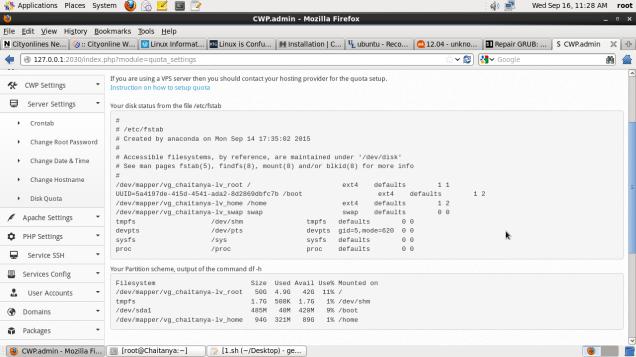 Ajenti Installation Script for Ubuntu