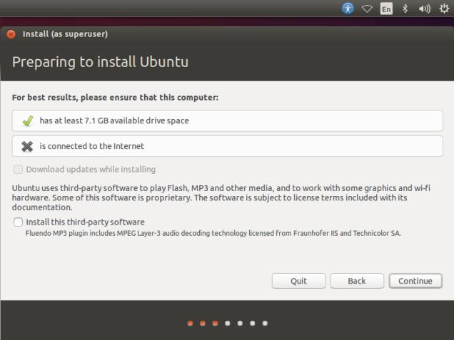 Ubntu-14.10-Preparing-to-install