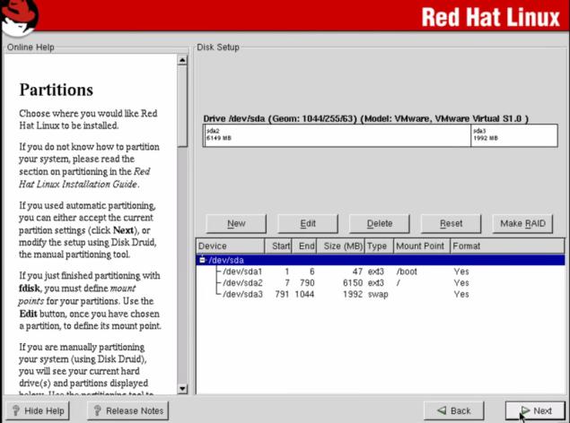 Redhat OS Distribution – Linux Information & Scripting